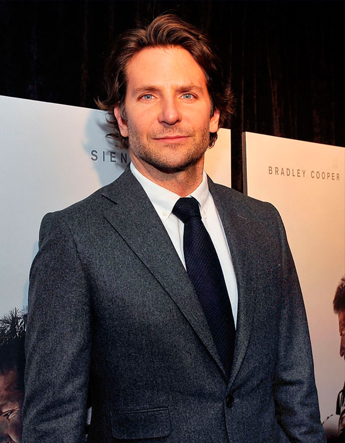 Bradley Cooper aumentó 20 kilos en tres meses para el papel en American Sniper