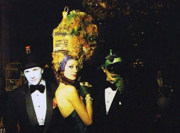 "Fotografías surrealistas de la fiesta ""Illuminati"" organizada por la familia Rothschild en 1972"