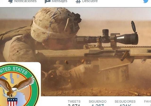 Mando Central reactiva cuenta de Twitter tras el ciberataque de ISIS