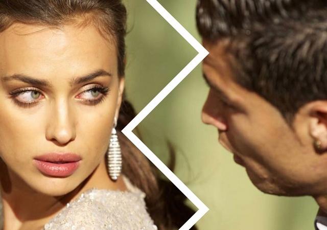 Cristiano Ronaldo e Irina Shayk confirman su ruptura
