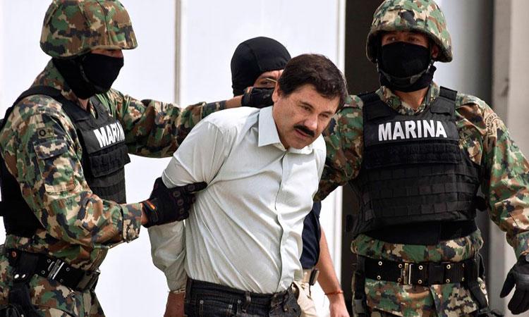 Caen docenas de miembros del cártel de Sinaloa