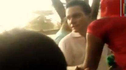 Abusivo Gobernador de Chiapas bofetea a asistente