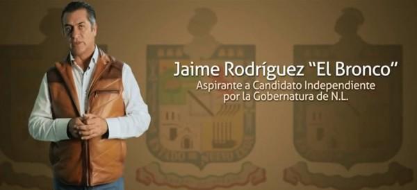 150,000 firmas reúne 'El Bronco', aspirante independiente al gobierno de Nuevo León