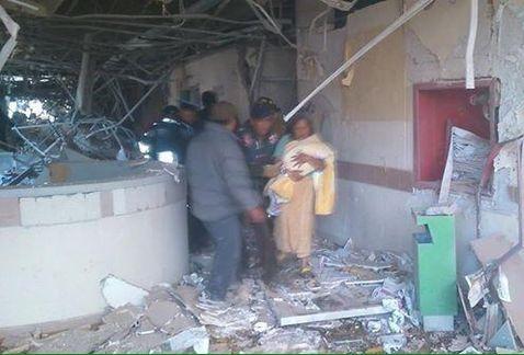 Hay 7 bebés heridos de gravedad: Ahued
