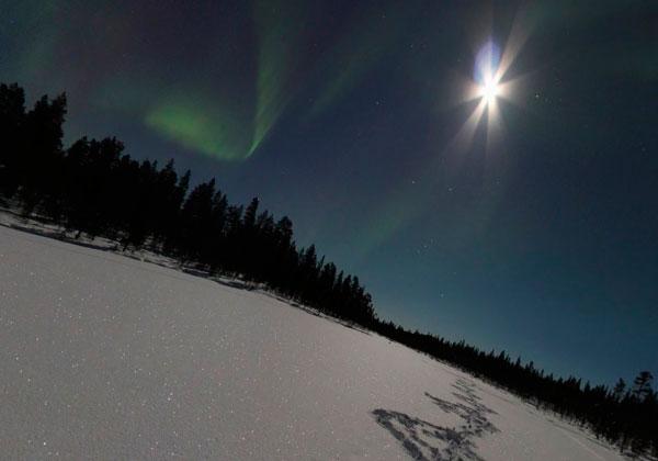Las auroras boreales desde el salón de tu casa