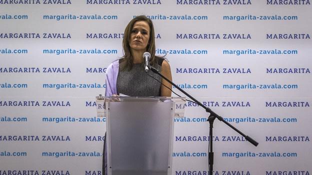 Margarita Zavala va por la presidencia del PAN