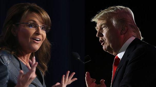 Sarah Palin y Trump, interesados en ser candidatos a la presidencia de EU