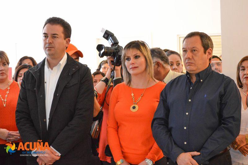 Visita Presidenta DIF Acuña, Director DIF Coahuila y Procurador, instalaciones de la PRONNIF. .