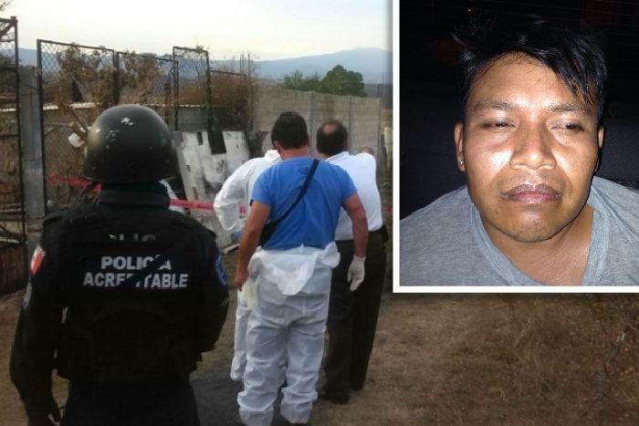 Sujeto asesinó a machetazos a su esposa y su hija de 10 años