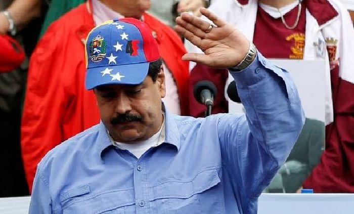 Acusa Maduro a Calderón de apoyar golpe en Venezuela