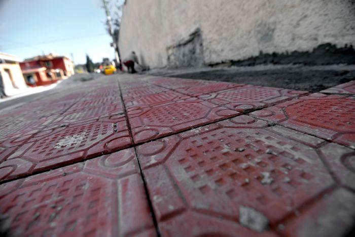 Saltillo: Inicia colocación de mosaico chino en Juárez