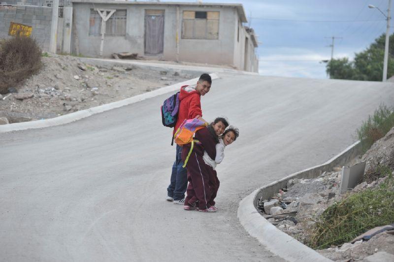 Saltillo: Impulsa Municipio calidad de vida; pavimenta Paraíso Norte