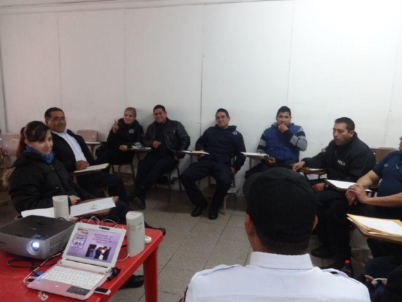 Saltillo: Capacitan a personal de UNEPAVIF en protocolos de actuación