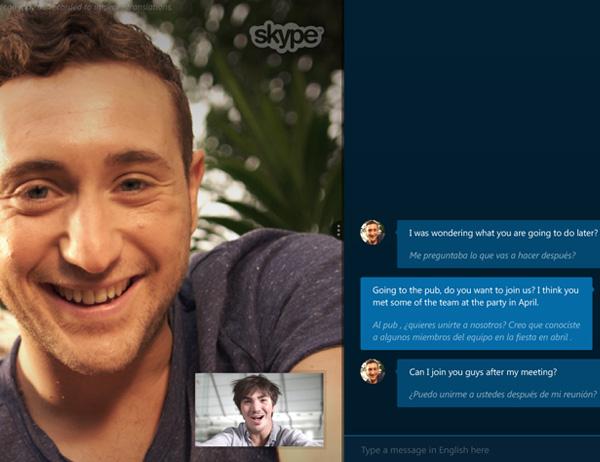 Skype presenta Skype Translator un sistema de traducción simultánea para conversaciones