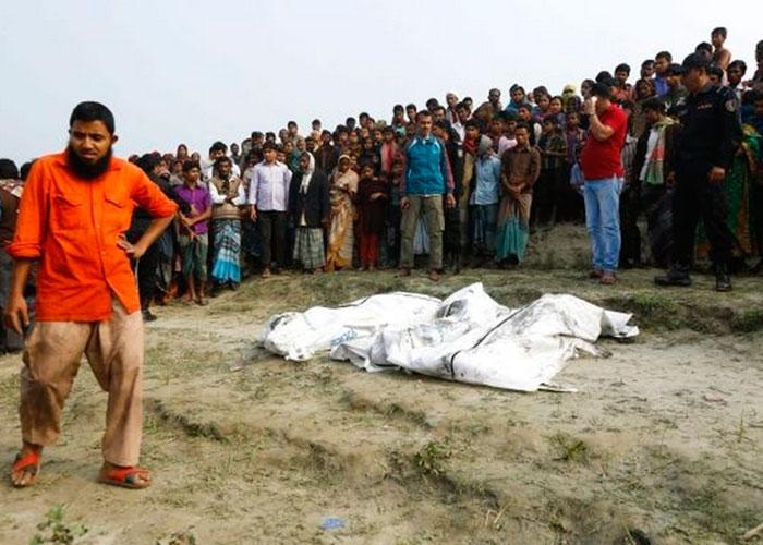 Aumenta a 70 la cifra de muertos por naufragio en Bangladesh
