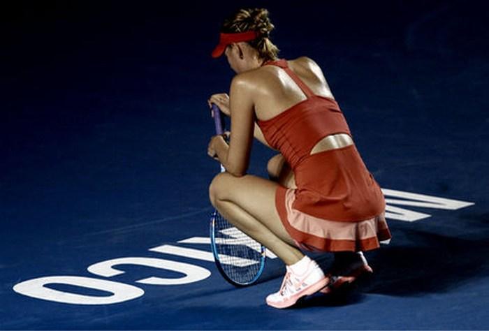 Sharapova con problemas estomacales, espera jugar