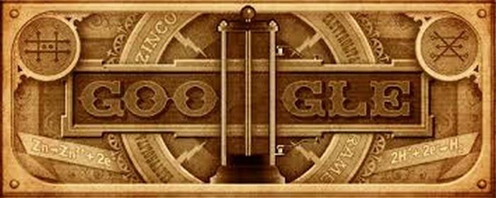 Google celebra al científico Alessandro Volta