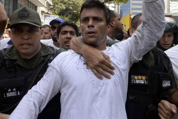 El opositor Leopoldo López cumple un año tras las rejas