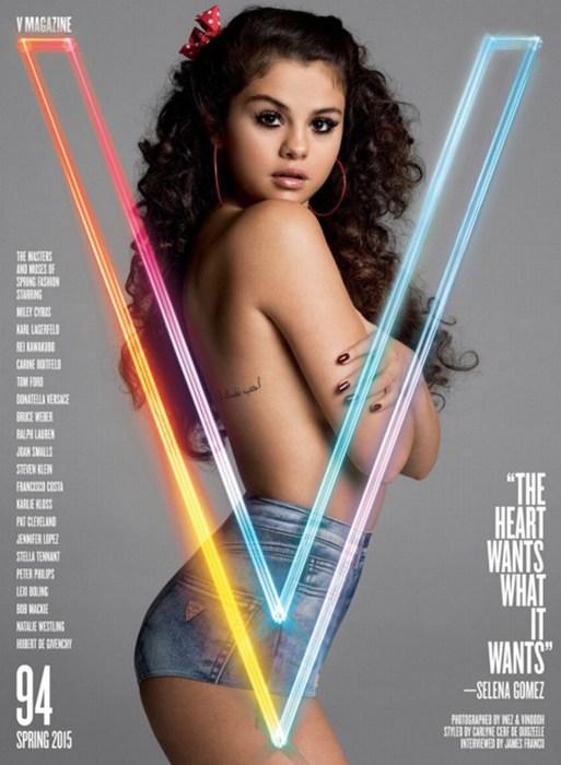 Selena gomez muy sensual en portada de revista