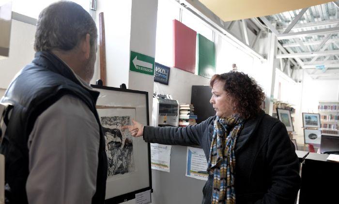"""Saltillo: Exponen en Biblioparque Norte obra """"Espacio Vacío"""""""