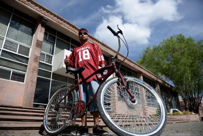 Saltillo: Recorren ciudades en bici; los atiende el Municipio