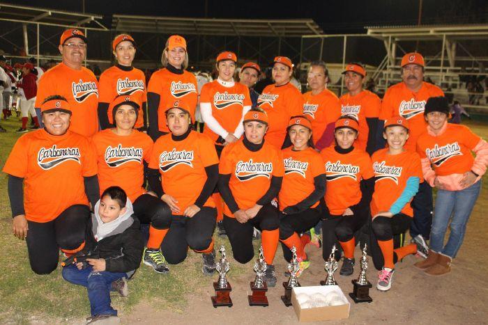 Sabinas: Fomento Deportivo puso en marcha  la segunda edición del softbol femenil