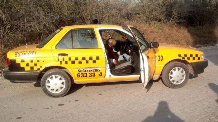 Taxistas en Monclova, exigen justicia por crimen de compañero