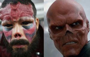 El obsesionado hombre que se está convirtiendo en el villano Red Skull