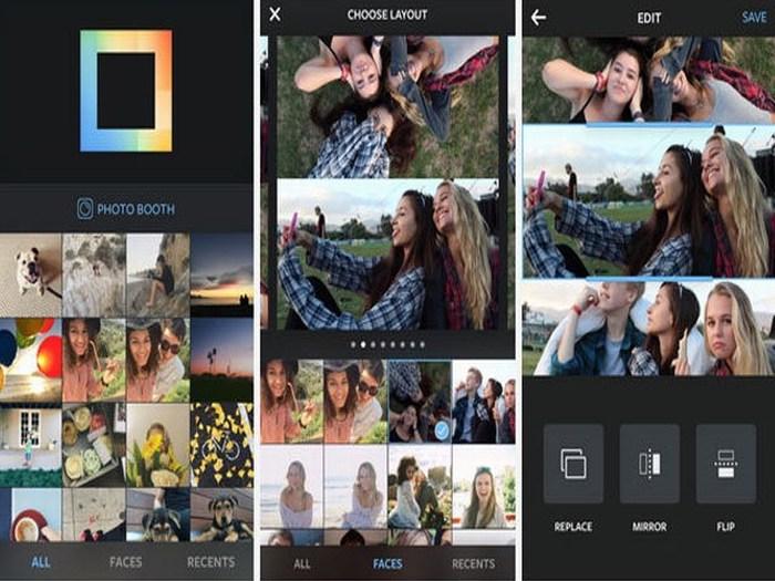 Layout, la aplicación de Instagram que permite crear collages