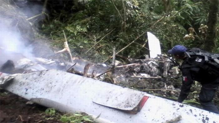 Cuatro personas muertas tras desplome de helicóptero de Telmex en Oaxaca