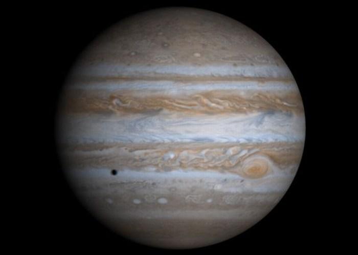 Nueva teoría afirma que empujón de Júpiter creó la Tierra