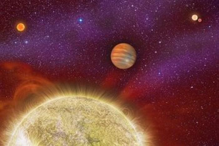 Descubren un planeta con cuatro soles