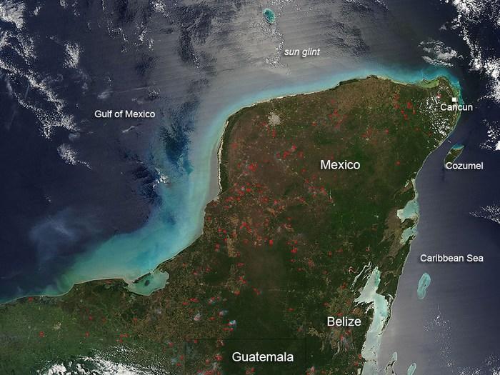 Gigantesco tsunami habría golpeado Yucatán hace 900 años