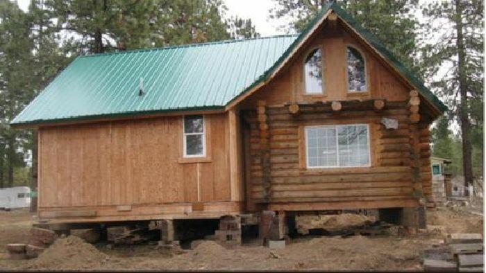 EE.UU.: Roban con una grúa una casa completa de 111 metros cuadrados