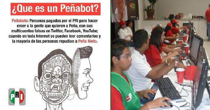 Peñabots, el ejército que neutraliza la crítica al gobierno