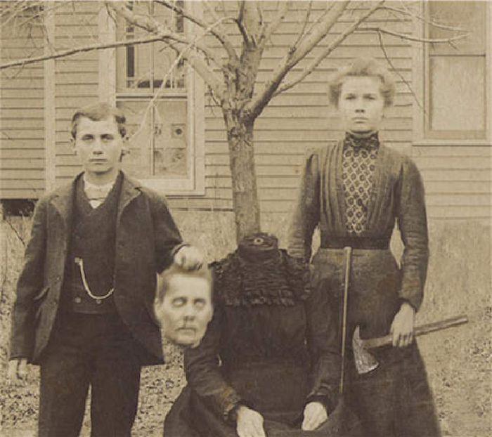 Photoshop en el siglo XIX: victorianos decapitados
