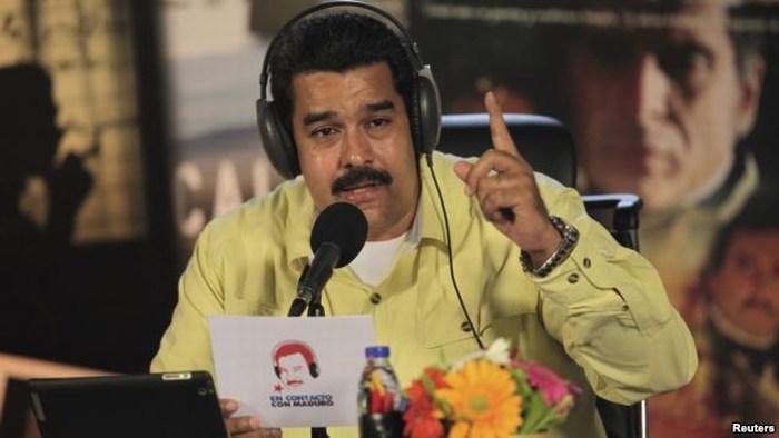 """Maduro: """"interesante"""" aclaración de EE.UU."""