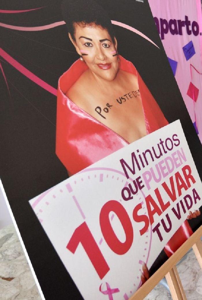 Saltillo: Exhorta Municipio a prevenir el cáncer de mama y cervicouterino