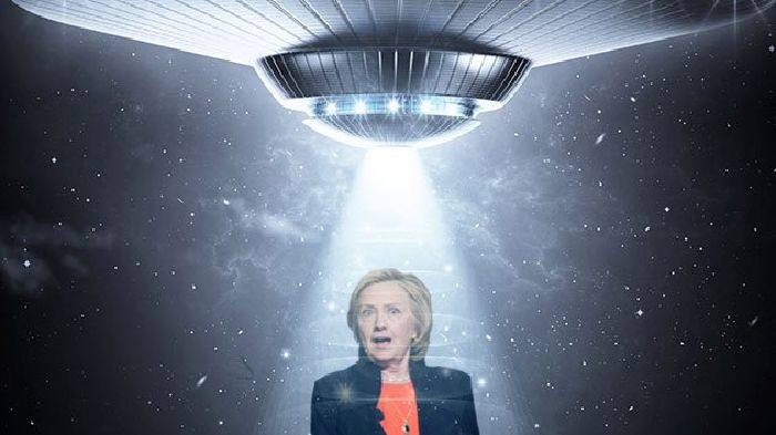 ¿Por qué los entusiastas del fenómeno OVNI quieren que Hillary Clinton sea presidenta?