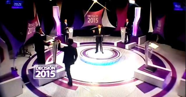 VIDEO: Pato Zambrano estuvo a punto de golpear a candidato durante debate