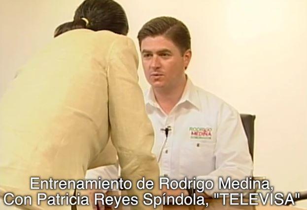 VIDEO: Ahora ventanean a Rodrigo Medina ensayando actuación.