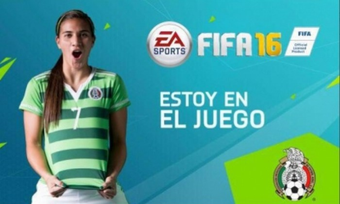 FIFA 16 incluirá doce selecciones femeninas entre ellas México