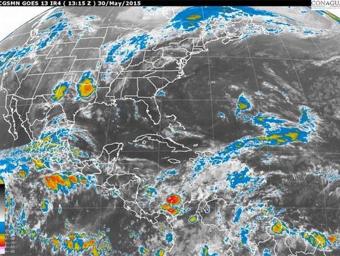 La Conagua alerta de posible ciclón en las próximas 48 horas