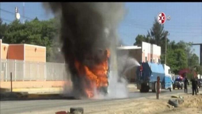 PGR inició averiguaciones previas por bloqueos, incendios de vehículos y gasolineras en Jalisco