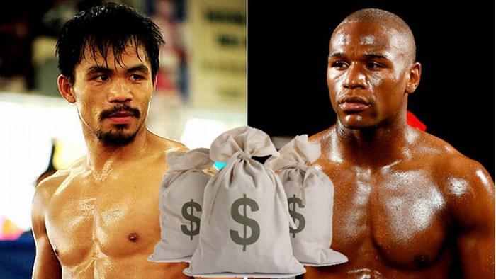 Confirmado: recauda pelea Maywether-Pacquiao más de 500 mdd