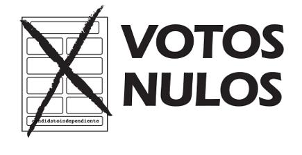 Voto nulo salva partidos pequeños