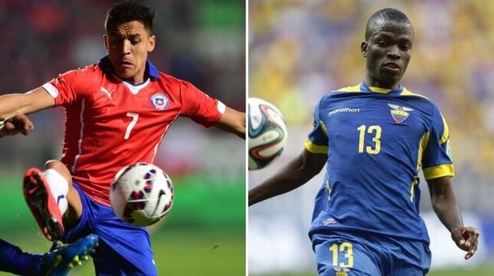 Chile vs. Ecuador: chocan en el inicio de la Copa América 2015