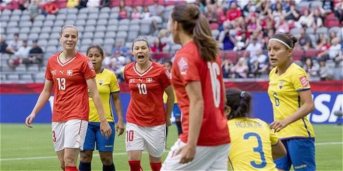 Goleada histórica: Suiza humilló 10-1 a Ecuador en el Mundial femenino