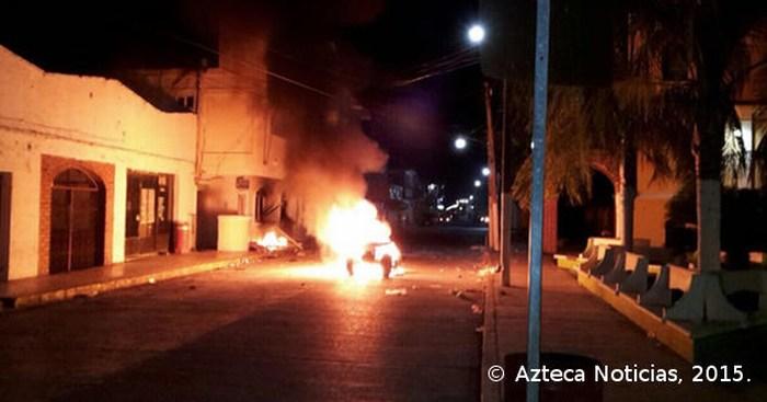 Incendian alcaldía de Veracruz por homicidio de joven