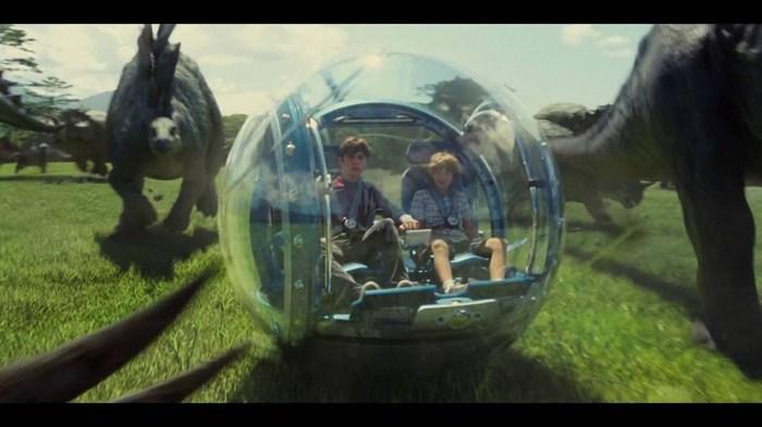"""Jurassic World"" se devora las taquillas en su estreno"